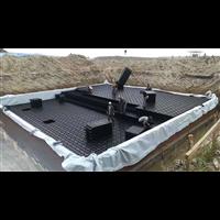 深圳1000方雨水收集模块安装