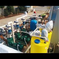 江苏医药谷地下室蓄水池雨水回用设备间