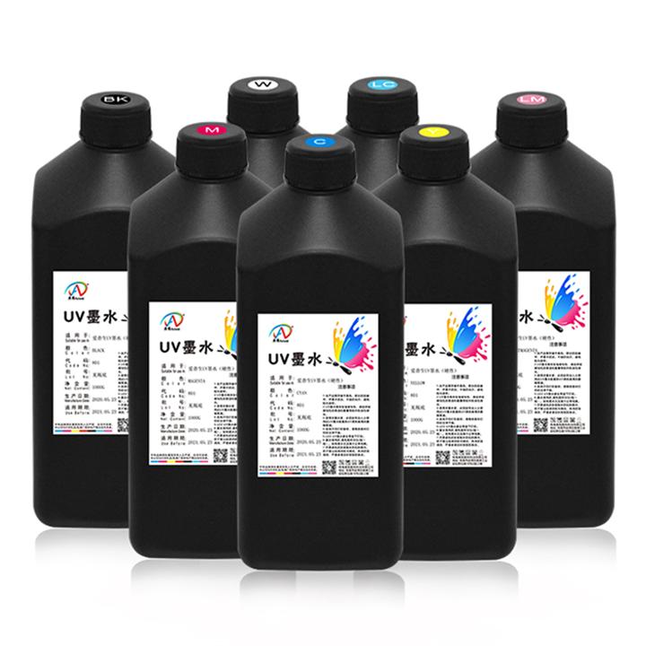 奥维爱普生UV墨水适用DX5代7代XP600TX800等喷头硬性和中性材料