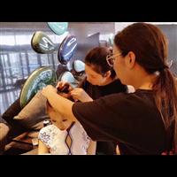 黄岛最好的化妆培训@胶南化妆培训