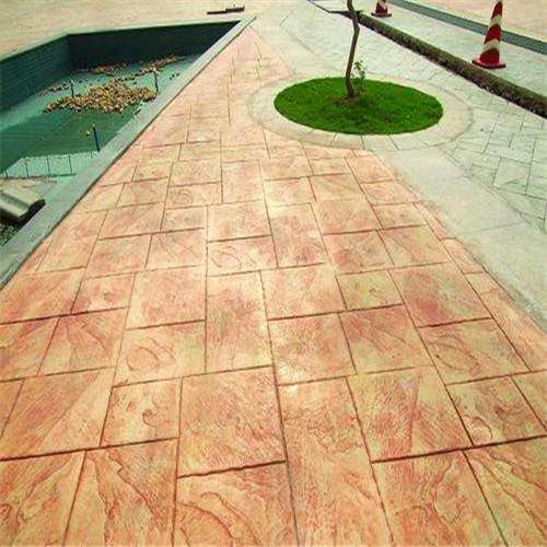 上海艺术压花地坪施工