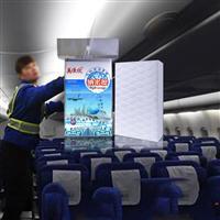 飞机内部清洗纳米海绵航空清洁压缩密胺绵