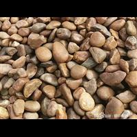 南京杂色鹅卵石河滩石园林造景工程铺路石