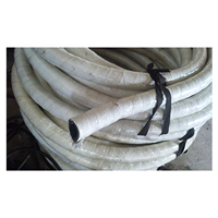 四川DN125mm三元乙丙耐温夹布石棉水冷电缆外套胶管
