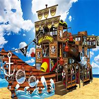海盗船淘气堡