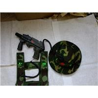 西安CS激光对战枪——供应陕西优惠的真人cs玩具枪微冲