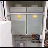 机械设备内置供水供液供油箱白色方形桶耐腐蚀耐酸