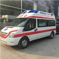 江苏省盐城第三人民医院重症救护车出租V348福特