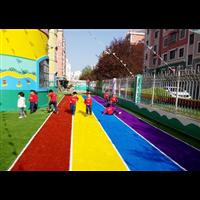 幼儿园草坪门球草