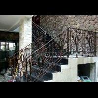 北京鐵藝樓梯扶手 北京鐵藝樓梯設計