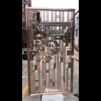 韶关铝雕镂空隔断