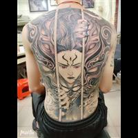 娄底纹身作品29