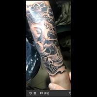 娄底纹身作品33