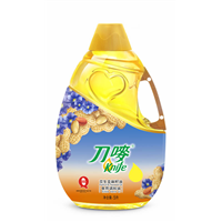 刀唛食用调和油花生亚麻籽油批发团购