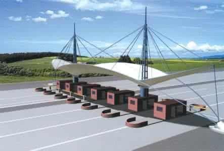 交通設施膜結構