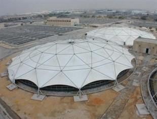 屋頂汙水池膜結構