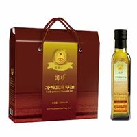 国珍®冷榨亚麻籽油2瓶/...
