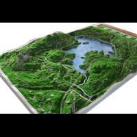 济南场景沙盘模型