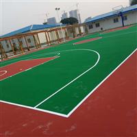 佛山南海市九江上东工业园塑胶球场丙烯酸篮球场技术要求