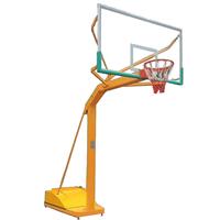 长沙芙蓉路学校移动式篮球架玻璃钢盖箱式篮球架模具成型技术