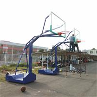 南宁伟迪小学移动篮球架安装给力体育户外篮球架厂家