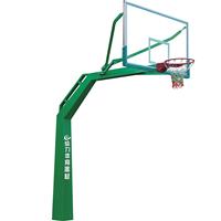 贵港户外篮球架厂家给力体育安装江门中学方管篮球架项目
