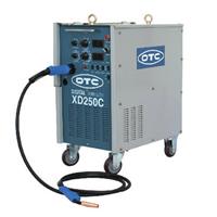 日本OTC微电脑控制送丝机内置一体式CO2焊接机XD250C