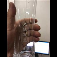 玻璃杯 醒酒器 酒瓶 水晶工艺品上刻字就用紫外激光打标机
