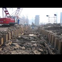 汕头拉森钢板桩施工