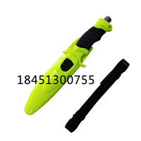 水域救援割绳刀带锯齿潜水绑腿刀防护装备