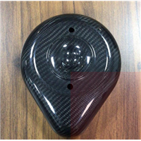碳纤维汽摩配件空气过滤器盖定制