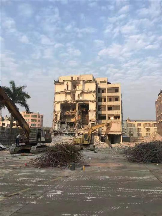 佛山房屋拆除施工