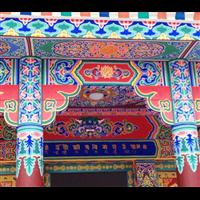 專業古建油漆彩,彩繪礦物顏料傳統做法