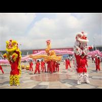 南宁周年庆醒狮表演 | 广西梁氏兄弟关圣宫龙狮团