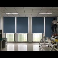 北京办公室窗帘定做单位隔热卷帘学校喷绘卷帘教室遮阳帘
