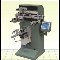 适用于丝印化妆品圆面产品/铝管/玻璃杯/奶瓶 圆曲面丝印机