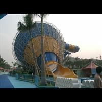 水上乐园大喇叭滑梯