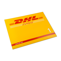 DHL寄文件到美国