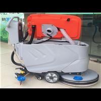 手推电瓶洗地机690 洁博士自动洗地车 超市用洗地机厂家