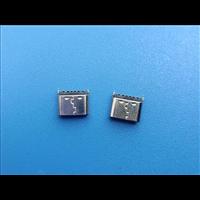 工厂直销TYPE C两脚立贴6PIN母座H=6.9