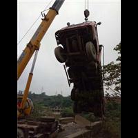泸州吊车吊事故车