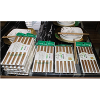 专业生产定制竹炭筷子现货出售