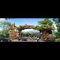 山东假树大门设计施工