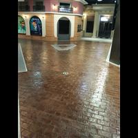 彩色水泥压花地坪l混凝土压印模具l上海睿龙专业材料施工厂家