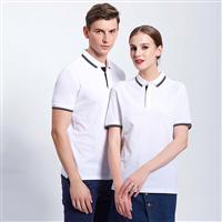 天河区团体POLO衫定制,护颈短袖POLO衫定做,高档POLO衫订制