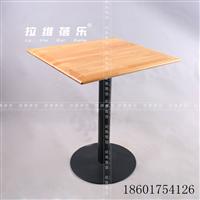 供应西安咖啡厅实木小方桌个性方桌定制