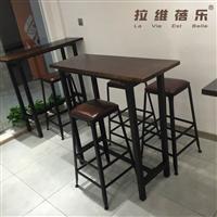 西安咖啡厅吧桌定制