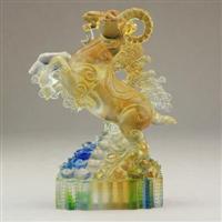 泉州玻璃佛像工艺品
