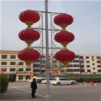 LED三连串灯笼批发 LED中国结定制