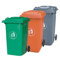 室外四色垃圾桶批发 江苏环卫塑料垃圾桶